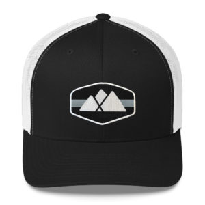 Atlanta Trails Mountain Trucker Hat - Raven