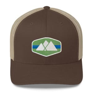 Atlanta Trails Mountain Trucker Hat - Roan