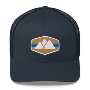 Atlanta Trails Mountain Trucker Hat - Sawnee