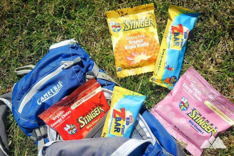 Kids Hiking Gear List: trail snacks