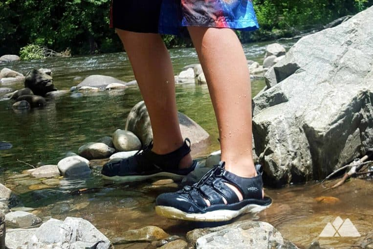 Kids hiking gear list: children's hiking boots and sandals