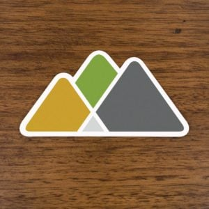 Atlanta Trails Mountain Logo Sticker