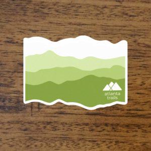 Atlanta Trails Appalachian Sticker