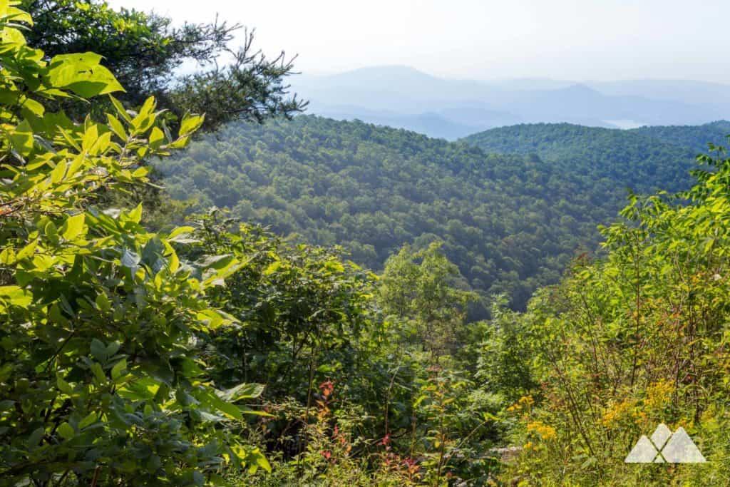 Hike the Appalachian Trail from Dicks Creek Gap just east of Hiawassee, GA