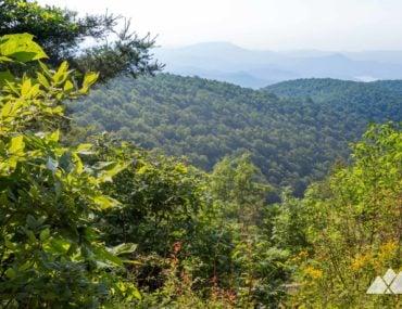Dicks Creek Gap to Powell Mountain on the Appalachian Trail