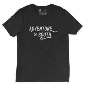 Atlanta Trails Adventure the South Shirt, Charcoal