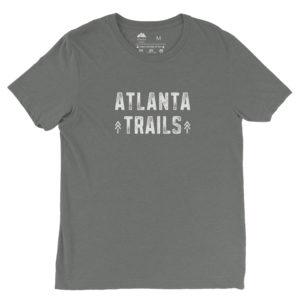 Atlanta Trails Between the Pines T Shirt, Granite