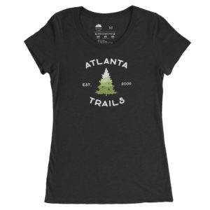 Atlanta Trails Women's Southern Pine T Shirt in Charcoal
