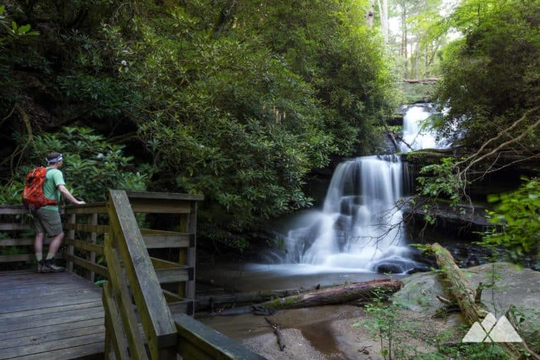 Martin Creek Falls on the Bartram Trail