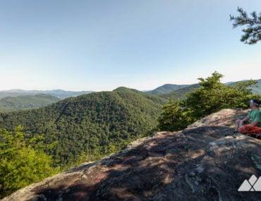 Pinnacle Knob on the Bartram Trail