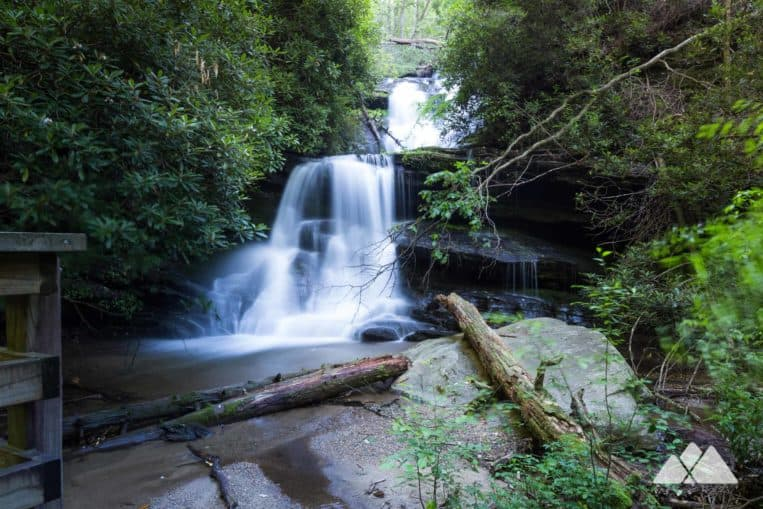 Martin Creek Falls on the Bartram Trail in Georgia