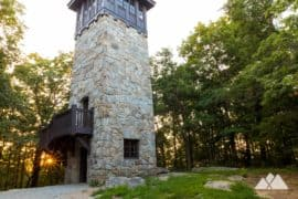 Fire lookout towers in Georgia