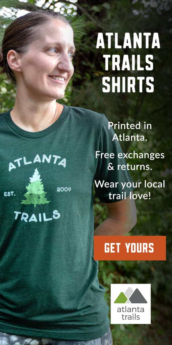 Atlanta Trails shirts: locally made and locally loved