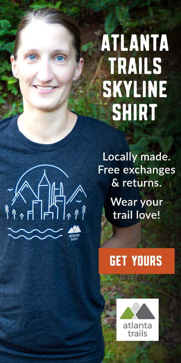 Atlanta Trails Skyline Shirt: locally made and locally loved