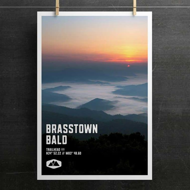 Brasstown Bald Poster