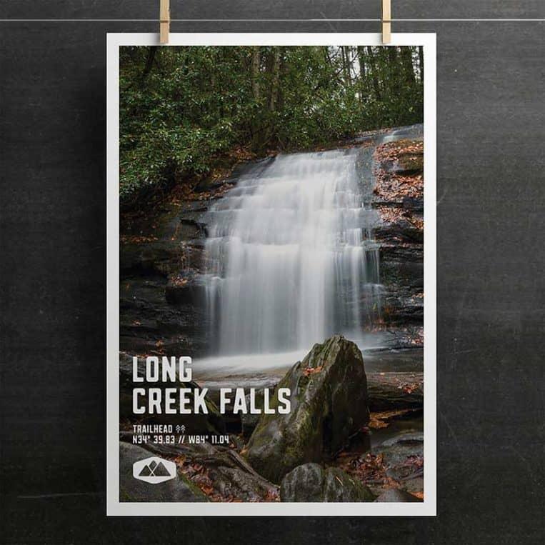 Long Creek Falls Poster
