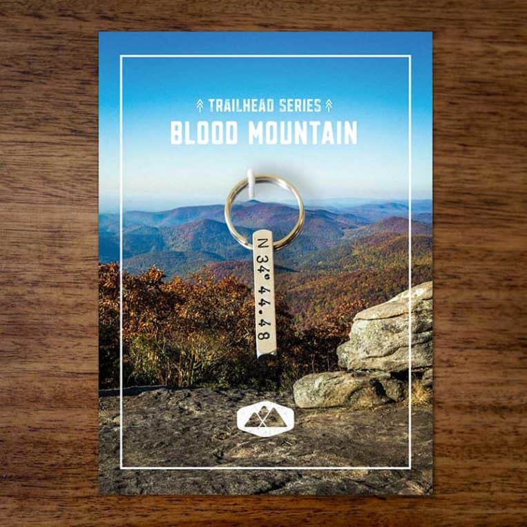 Blood Mountain Keychain