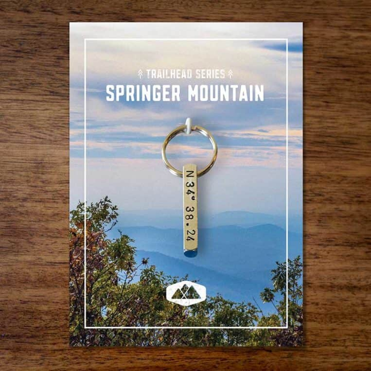 Springer Mountain Keychain