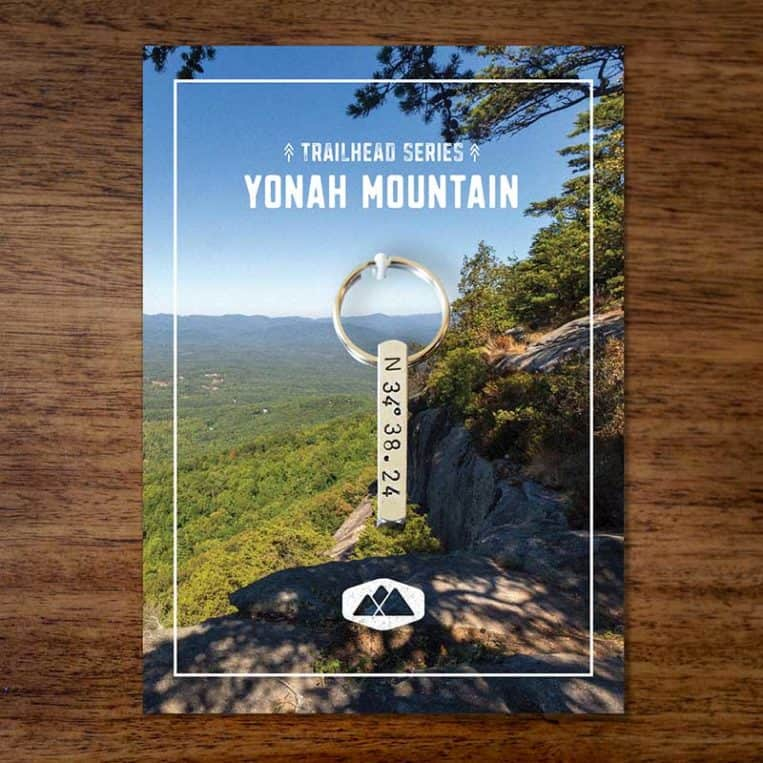 Yonah Mountain Keychain
