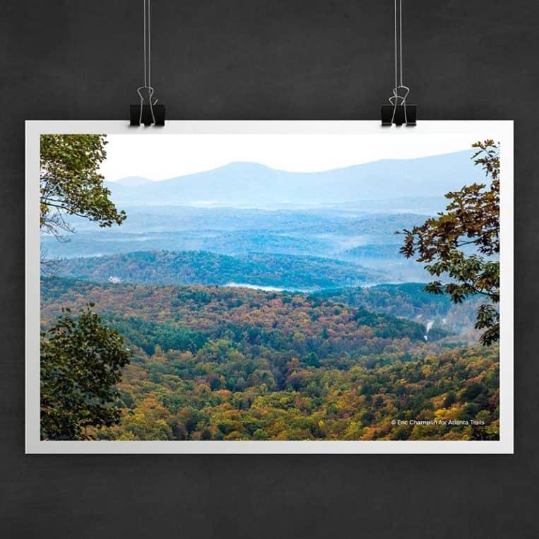 Atlanta Trails Amicalola Falls Photo Art Print