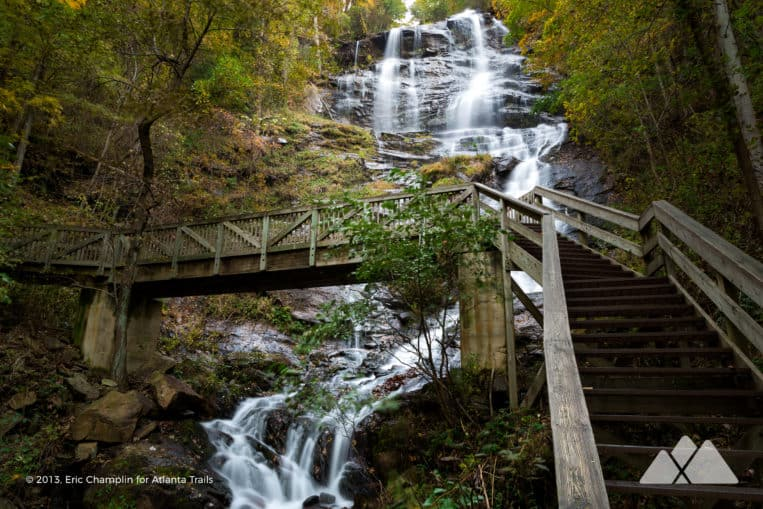 Amicalola Falls Trail: hike to Georgia's tallest waterfall