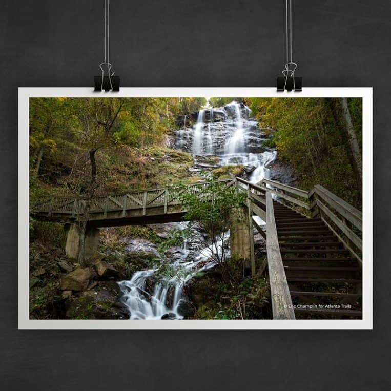 Atlanta Trails Amicalola Falls Photo Art Print