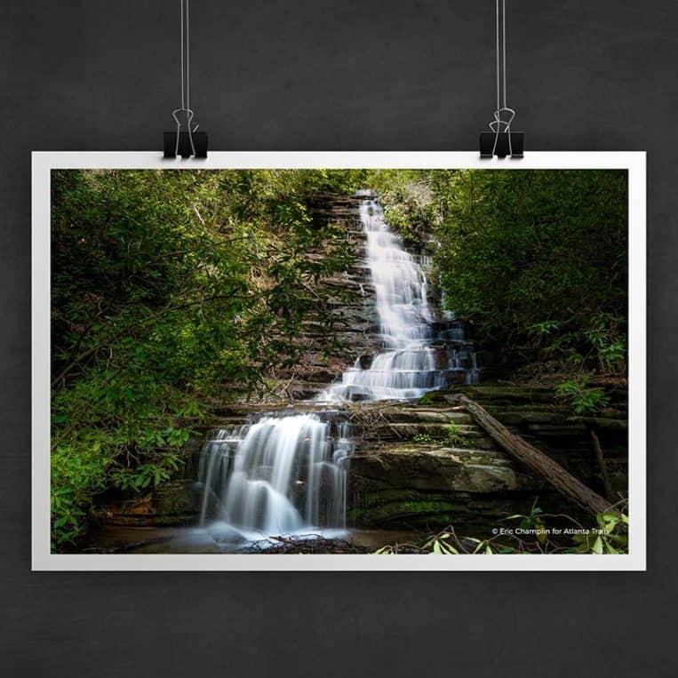 Atlanta Trails Angel Falls Photo Art Print