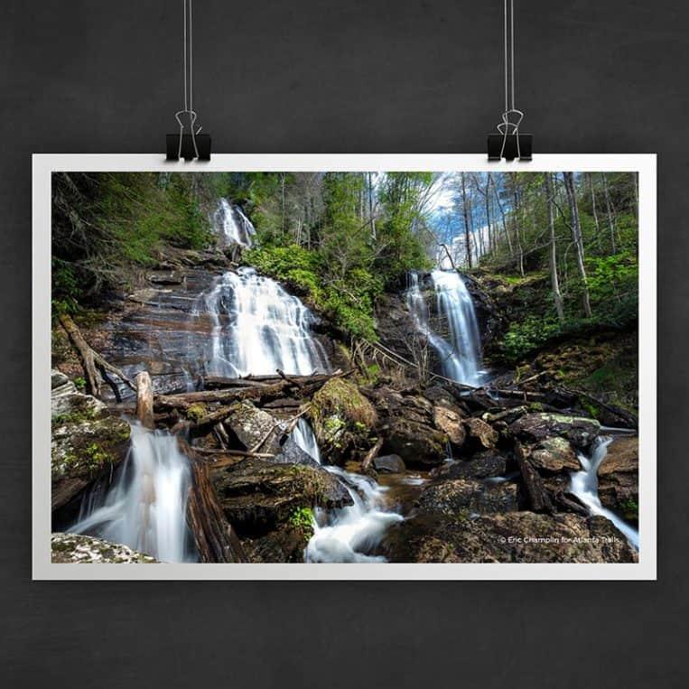 Atlanta Trails Anna Ruby Falls Photo Art Print