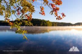 Our favorite fall leaf color hikes in Atlanta, GA