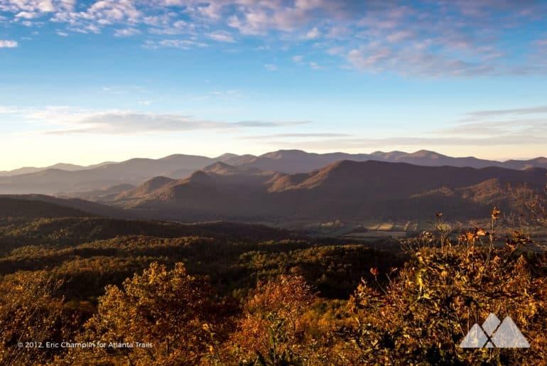 Black Rock Mountain James E Edmond Trail