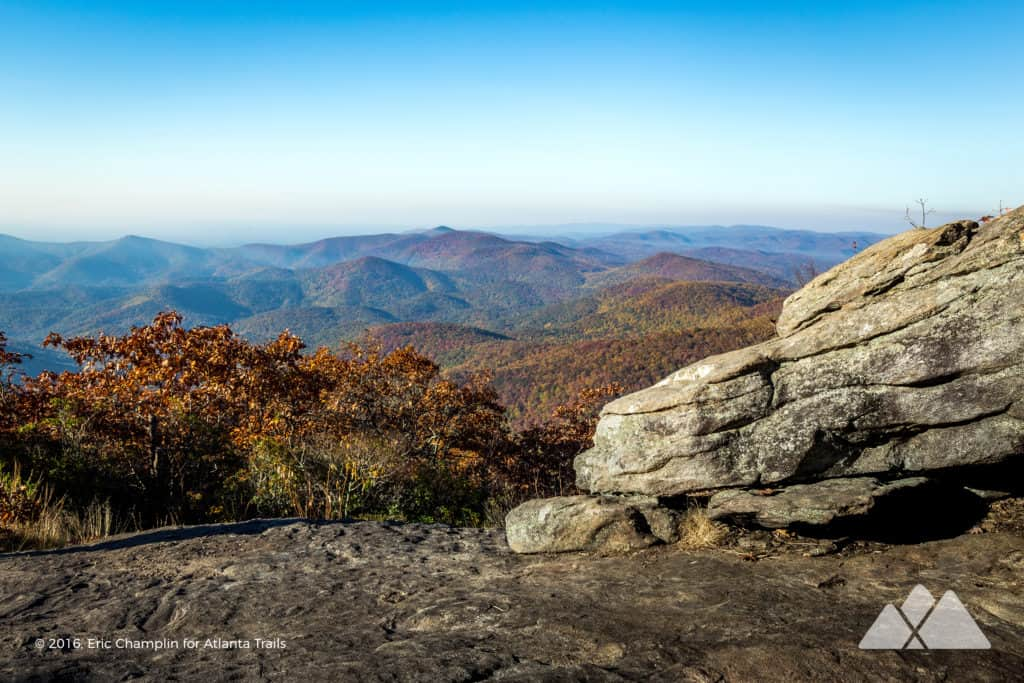 Blood Mountain Loop: hiking the Appalachian Trail and Freeman Trail