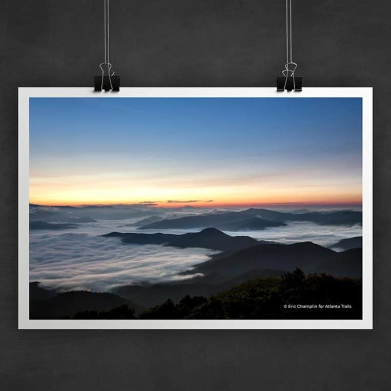 Atlanta Trails Brasstown Bald Photo Art Print