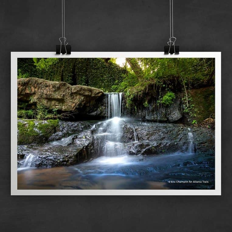 Atlanta Trails Cascade Springs Photo Art Print