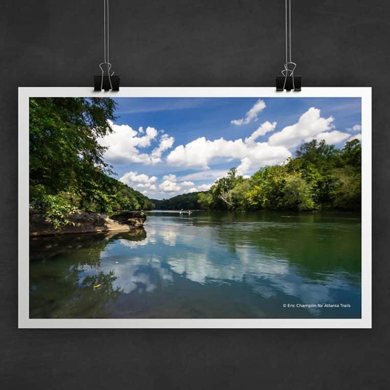 Atlanta Trails Chattahoochee River Photo Art Print