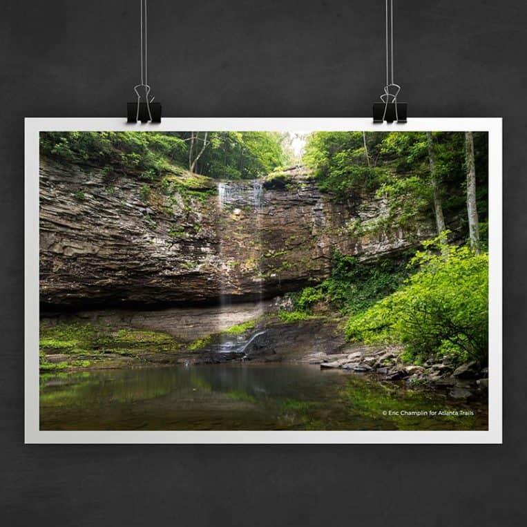 Atlanta Trails Cloudland Canyon Photo Art Print
