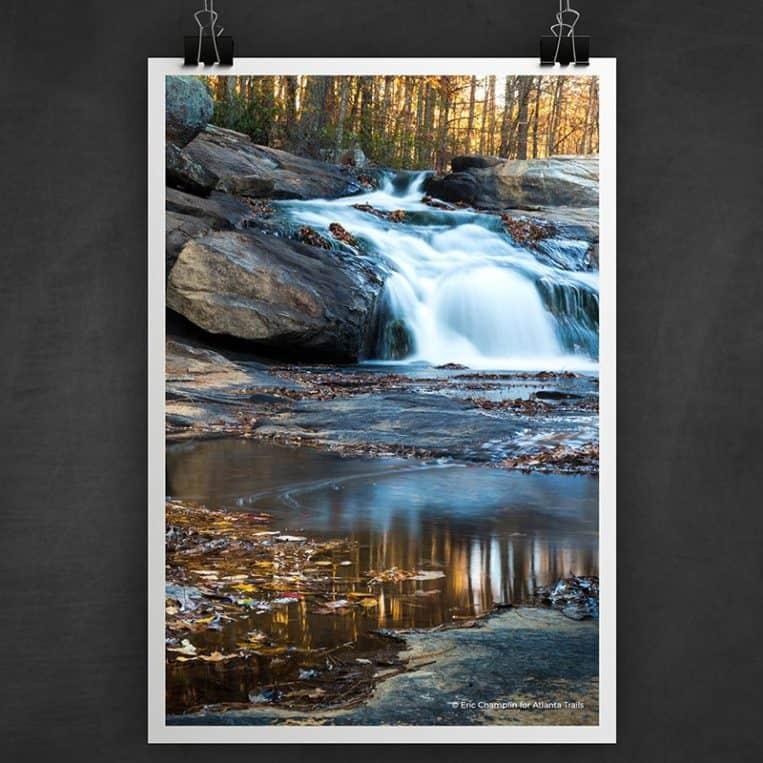 Atlanta Trails Cochran Mill Park Photo Art Print