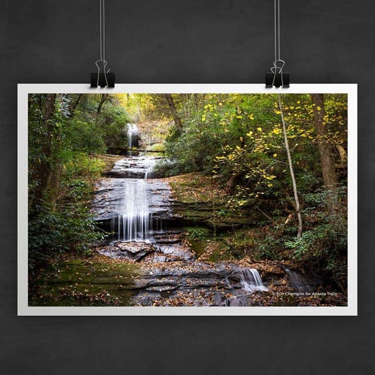 Atlanta Trails DeSoto Falls Photo Art Print