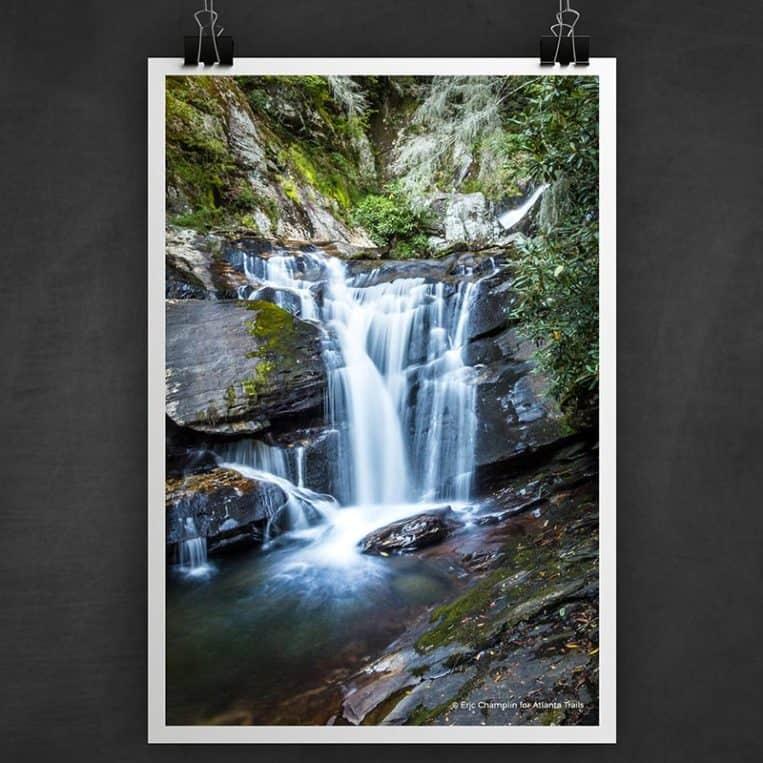 Atlanta Trails Dukes Creek Falls Photo Art Print
