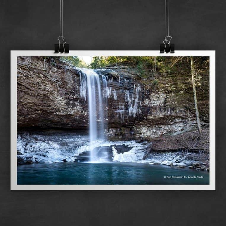 Atlanta Trails Cloudland Canyon Photo Art Print