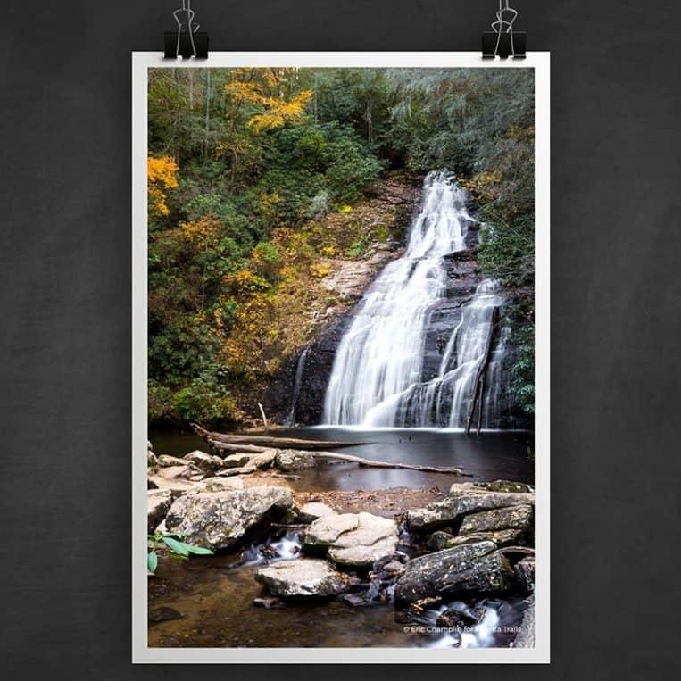 Atlanta Trails Helton Creek Falls Photo Art Print