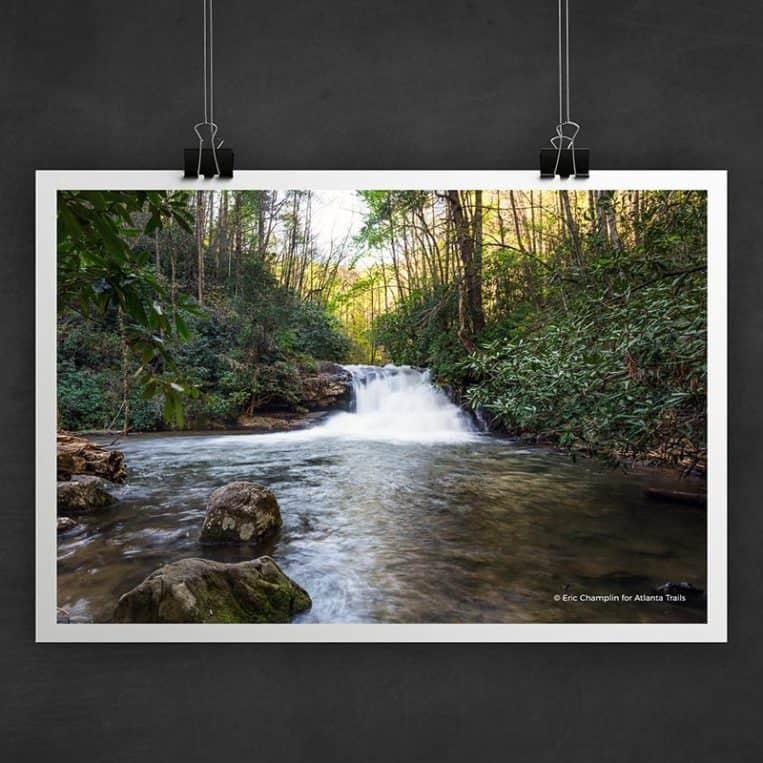 Atlanta Trails Hemlock Falls Photo Art Print