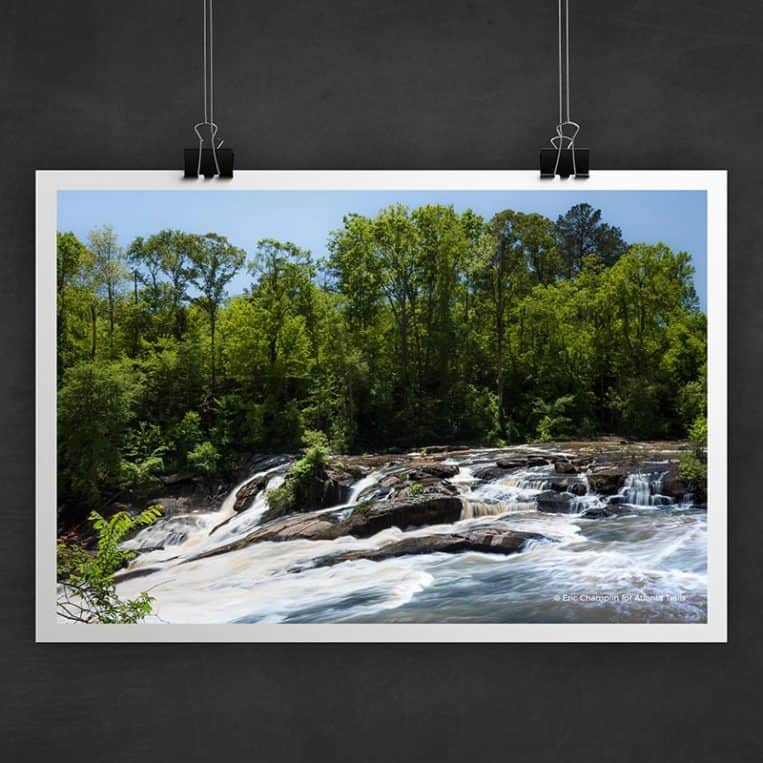 Atlanta Trails High Falls Photo Art Print