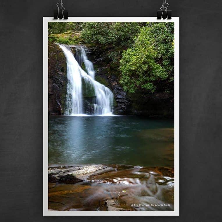 Atlanta Trails Blue Hole Falls Photo Art Print