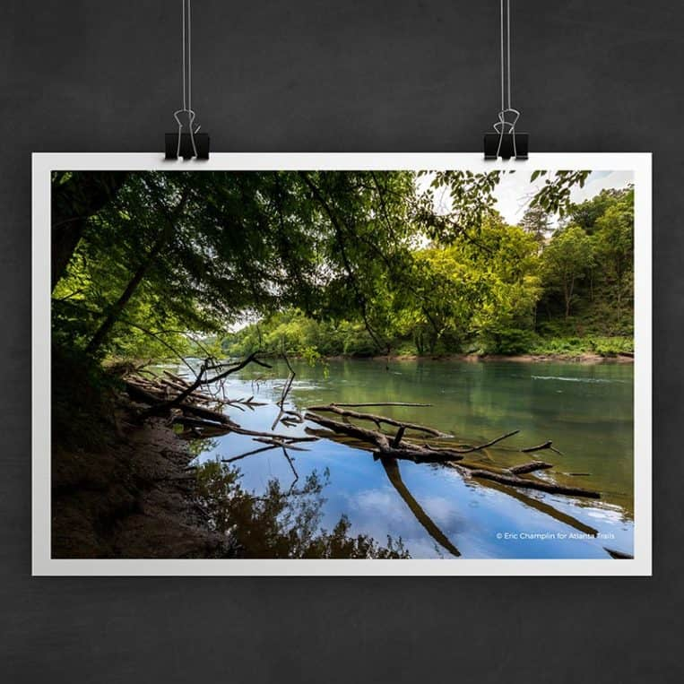 Atlanta Trails Chattahoochee River Photo Art Print