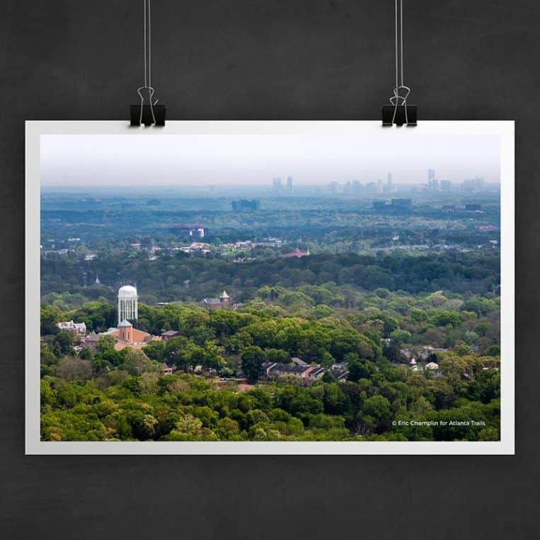 Atlanta Trails Kennesaw Mountain Photo Art Print