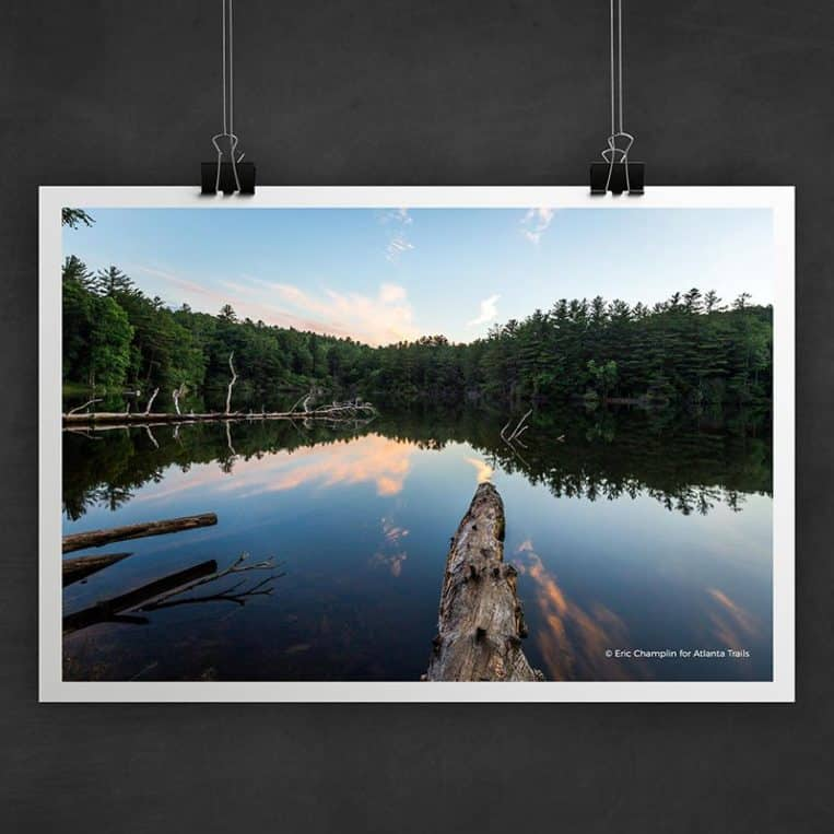 Atlanta Trails Lake Conasauga Photo Art Print