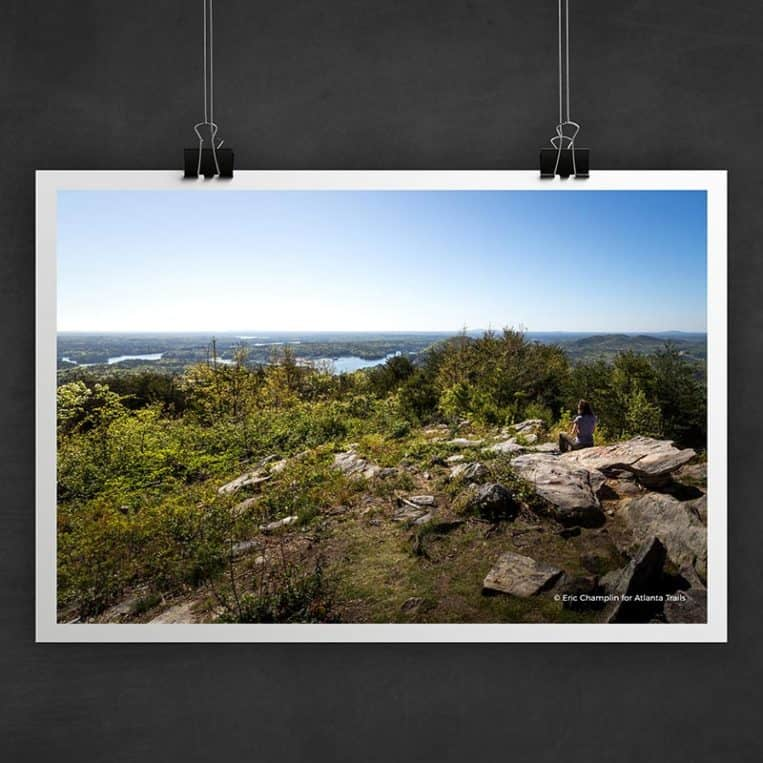Atlanta Trails Pine Mountain Photo Art Print