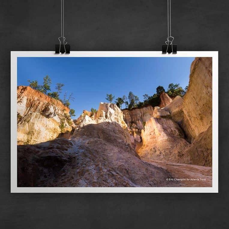 Atlanta Trails Providence Canyon Photo Art Print