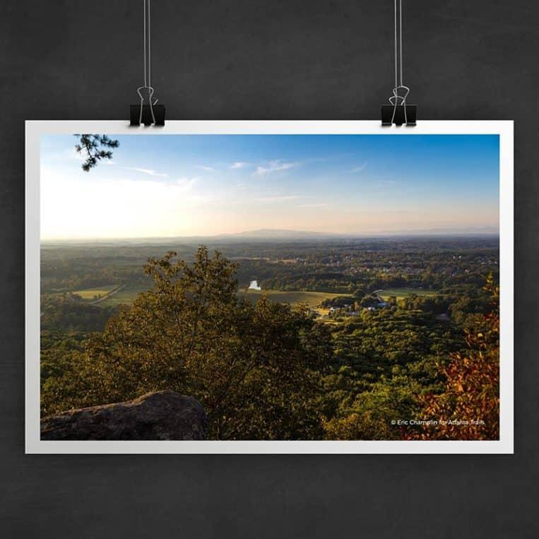 Atlanta Trails Sawnee Mountain Photo Art Print