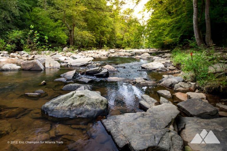 Sope Creek Trail in Marietta GA